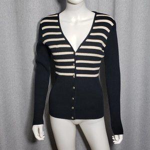 (3/$27)Tommy Hilfiger Long Sleeve Striped Cardigan